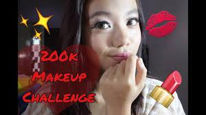 200k makeup challenge jessica felicia