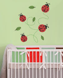 Lady Bugs Nursery Wall Decals Nursery Graphical Interiors