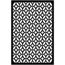 Home Furniture Diy Window Film Fence Panels Black Square Pattern Vinyl Decor Privacy Security Screen Lattice Bortexgroup Com
