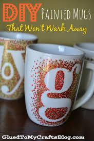 diy sharpie painted mugs that won t