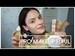 pro makeup haul camera ready cosmetics