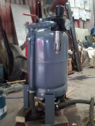 homemade pressure pot sandblaster