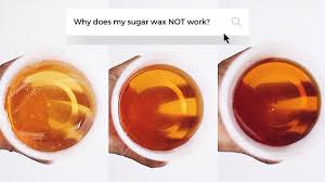 diy sugar wax