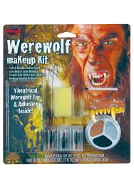 fun world scary werewolf makeup kit