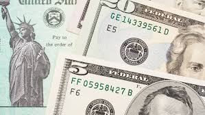 stimulus check ...