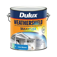 Dulux Weathershield 4l Low Sheen Deep Exterior Paint Bunnings Warehouse