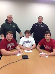 """langleysports on Twitter: """"Congratulations to Tyler Howerton  (Hampden-Sydney), Will Koopman (Sewanee) and Zach Tucker (Catholic) on  signing to play football in college… https://t.co/MsbmBgdWy1"""""""
