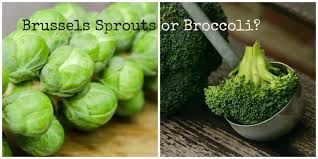 brussels sprouts or broccoli