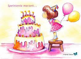 Życzę Ci słońca na każdym niebie, smaku,... - Życzenia urodzinowe ...