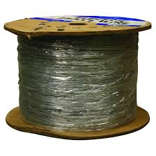 Farmgard 1 2 Mile 17 Gauge Electric Fence Wire 317752a The Home Depot