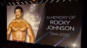 NXT honors Rocky Johnson with a 10-bell salute - YouTube
