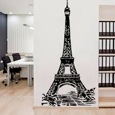 Luxuriant Eiffel Tower Wall Sticker Removable Wall Stickers Diy Wallpaper For Baby Kids Rooms Decor Wall Decoration Wall Stickers Aliexpress
