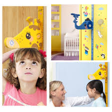 Removable Height Chart Wall Sticker Cartoon Animals Height Measure For Kids Rooms Growth Chart Nursery Room Decor Wall Art Akolzol Com