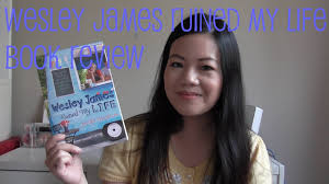Wesley James Ruined My Life book review | Jennifer Honeybourn - YouTube