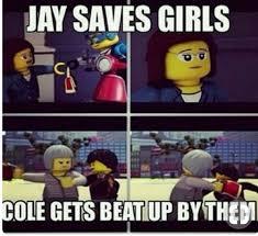 Ninjago Memes, Song cracks and more! - Meme 22~ Jay VS Cole - Wattpad