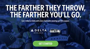 free delta miles for seahawks