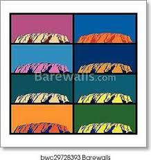 Ayers Rock Art Print Canvas Print Poster Wall Art Home Decor Ebay