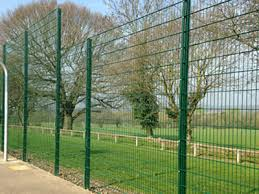 Welded Double Wire Fence Used For Court Farm Factory Park Fencing