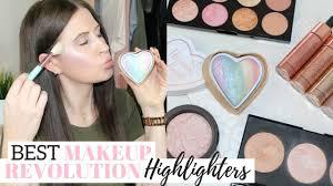 top 5 makeup revolution highlighters
