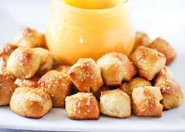 easy homemade pretzel bites recipe i
