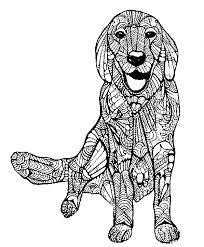 Kleurplaat Honden 30