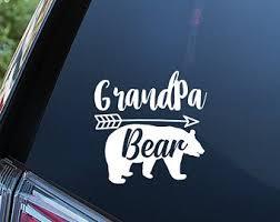 Grandpa Car Decal Etsy