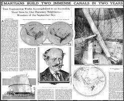 Enroque de ciencia: Lowell y los canales de Marte