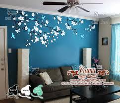 Cherry Blossom Wall Decals Nursery White Cuma Wall Decals