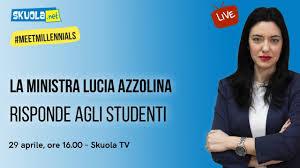 Maturità 2020 e scuola: il 29 aprile alle 16 Azzolina in diretta ...