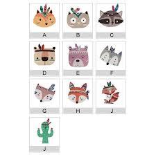 Super Deal 2519 Kids Room Decorations Nordic Style Wood Plastic Board Ornaments Cartoon Animal Head Wall Decor Children Gift Cicig Co