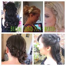 bridal hair trend braids