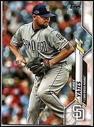 Amazon.com: 2020 Topps #25 Kirby Yates NM-MT Padres: Collectibles ...