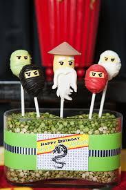 A Lego Ninjago Inspired Birthday Party - Anders Ruff Custom ...