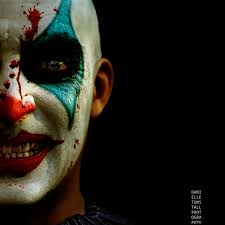 scary clown makeup for halloween 2020