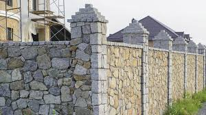 Retaining Walls Block Walls Stone Fence Ideas Traditional Garden By Brick Block Stone Masonry Houzz Ie
