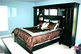 bedroom wall unit headboard