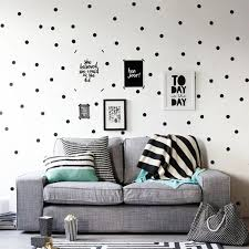 60 Count Black Polka Dot Wall Stickers In 2020 Kids Room Wall Decor Modern Baby Room Decor Modern Baby Room