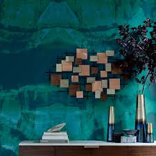 quartz stone mural wallpaper west elm