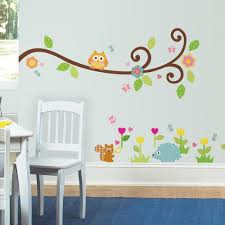 Scroll Tree Branch Wall Decals Roommates Decor