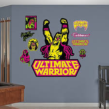 Compare Fathead Wwe Ultimate Warrior Logo Real Big Wall Decal Carmina Kinnison Dfert