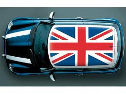 Authentic Mopar Decal Kit Roof British Union Jack Flag 82213113 Mopar Online Parts