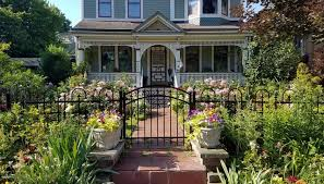 Hardscaping 101 Wrought Iron Fences Gardenista
