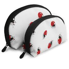 cute ladybug insect cosmetic bag