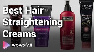 best hair straightening creams in india