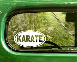 Karate Decal Sticker Martial Arts The Sticker And Decal Mafia