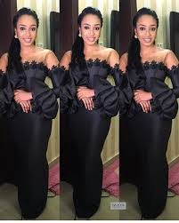 Image result for black asoebi styles