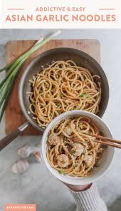 Addictive Asian Garlic Noodles Recipe