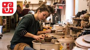 Meet Annabelle Smith - Leach Pottery, St Ives - YouTube