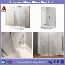 tempered toughened glass shower doors