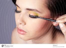 applying makeup beauty portrait a
